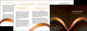 maquette en ligne a personnaliser depliant 4 volets  8 pages  web design texture contexture structure MLGI89533