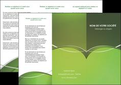 Commander Imprimerie plaquette Web Design papier publicitaire et imprimerie Dépliant 6 pages Pli roulé DL - Portrait (10x21cm lorsque fermé)