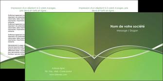 modele depliant 2 volets  4 pages  web design texture contexture structure MIF89603