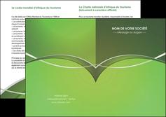 faire depliant 2 volets  4 pages  web design texture contexture structure MIF89613