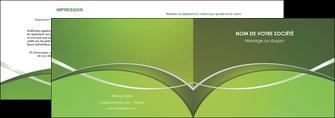 faire modele a imprimer depliant 2 volets  4 pages  web design texture contexture structure MIF89619