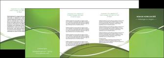 imprimer depliant 4 volets  8 pages  web design texture contexture structure MIF89635