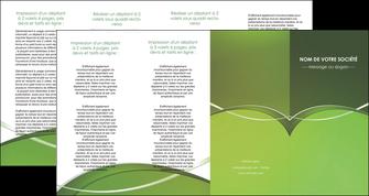 faire modele a imprimer depliant 4 volets  8 pages  web design texture contexture structure MIF89639