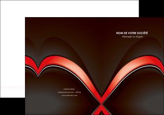 personnaliser modele de pochette a rabat web design abstrait abstraction arriere plan MLGI89723