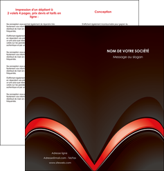 personnaliser modele de depliant 2 volets  4 pages  web design abstrait abstraction arriere plan MLGI89739