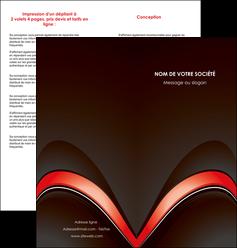 personnaliser modele de depliant 2 volets  4 pages  web design abstrait abstraction arriere plan MLGI89739