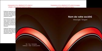 creer modele en ligne depliant 2 volets  4 pages  web design abstrait abstraction arriere plan MLGI89741