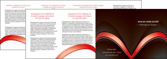 faire modele a imprimer depliant 4 volets  8 pages  web design abstrait abstraction arriere plan MLGI89759