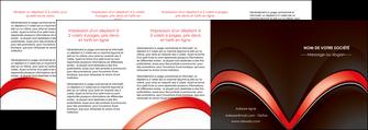 faire modele a imprimer depliant 4 volets  8 pages  web design abstrait abstraction arriere plan MLGI89759