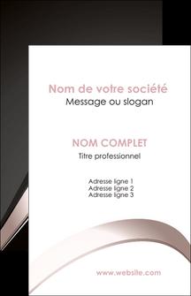 Commander carte de visite recto verso pelliculage Web Design modèle graphique pour devis d'imprimeur Carte de visite - Portrait