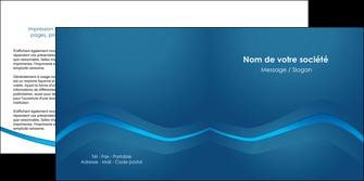 maquette en ligne a personnaliser depliant 2 volets  4 pages  web design texture contexture structure MLIP90111