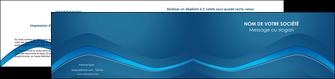 modele depliant 2 volets  4 pages  web design texture contexture structure MLIP90117