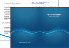 imprimer depliant 2 volets  4 pages  web design texture contexture structure MLIP90121