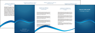 personnaliser maquette depliant 4 volets  8 pages  web design texture contexture structure MLIP90123