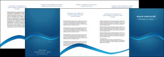 personnaliser maquette depliant 4 volets  8 pages  web design texture contexture structure MLGI90123
