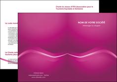 creation graphique en ligne depliant 2 volets  4 pages  web design texture contexture structure MLGI90533