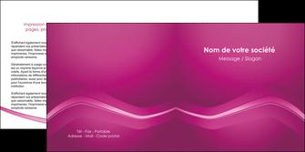 realiser depliant 2 volets  4 pages  web design texture contexture structure MLGI90557