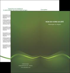 modele en ligne depliant 2 volets  4 pages  texture contexture structure MLGI90607