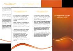 personnaliser modele de depliant 3 volets  6 pages  web design texture contexture abstrait MLGI90831