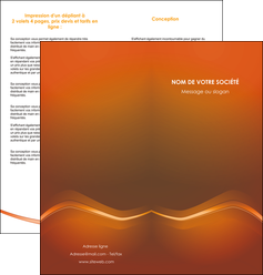 personnaliser maquette depliant 2 volets  4 pages  web design texture contexture abstrait MLGI90833