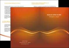 creer modele en ligne depliant 2 volets  4 pages  web design texture contexture abstrait MLGI90845