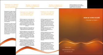 impression depliant 4 volets  8 pages  web design texture contexture abstrait MLGI90851