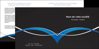 modele en ligne depliant 2 volets  4 pages  reseaux texture contexture structure MIS90869
