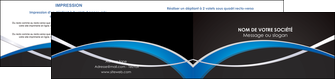 imprimer depliant 2 volets  4 pages  reseaux texture contexture structure MIS90875
