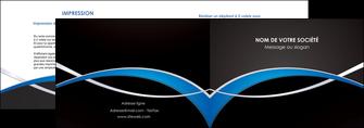 imprimer depliant 2 volets  4 pages  reseaux texture contexture structure MIS90883
