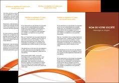 maquette en ligne a personnaliser depliant 3 volets  6 pages  web design texture contexture abstrait MLGI91073