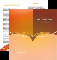 faire modele a imprimer depliant 2 volets  4 pages  web design texture contexture abstrait MIFLU91075
