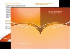 realiser depliant 2 volets  4 pages  web design texture contexture abstrait MLGI91087
