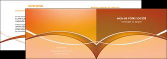 impression depliant 2 volets  4 pages  web design texture contexture abstrait MIFLU91091