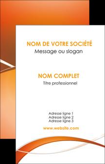 Impression impression cartes postales montpellier Web Design devis d'imprimeur publicitaire professionnel Carte de visite - Portrait