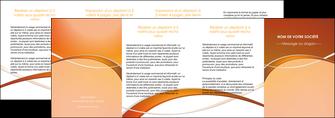 exemple depliant 4 volets  8 pages  web design texture contexture abstrait MLGI91115
