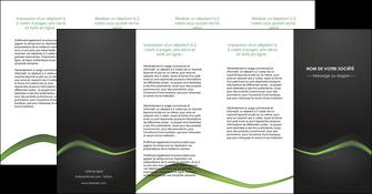 faire depliant 4 volets  8 pages  web design texture contexture abstrait MLGI91225
