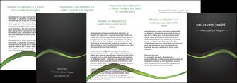 realiser depliant 4 volets  8 pages  web design texture contexture abstrait MLGI91227