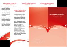 modele en ligne depliant 3 volets  6 pages  web design texture contexture abstrait MIF91445