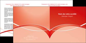 personnaliser maquette depliant 2 volets  4 pages  web design texture contexture abstrait MIF91449