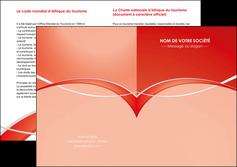 personnaliser maquette depliant 2 volets  4 pages  web design texture contexture abstrait MIF91459