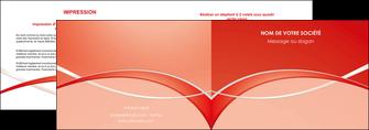 faire modele a imprimer depliant 2 volets  4 pages  web design texture contexture abstrait MIF91463