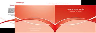 modele en ligne depliant 2 volets  4 pages  web design texture contexture abstrait MIF91465