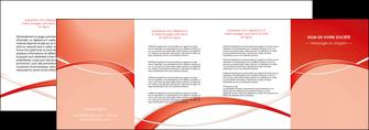impression depliant 4 volets  8 pages  web design texture contexture abstrait MIF91481
