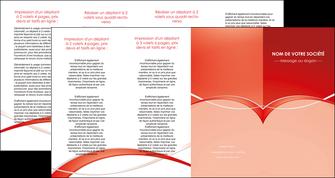 creer modele en ligne depliant 4 volets  8 pages  web design texture contexture abstrait MIF91485