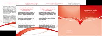 modele depliant 4 volets  8 pages  web design texture contexture abstrait MIF91487