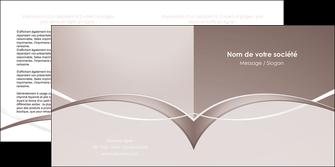 faire depliant 2 volets  4 pages  web design texture contexture abstrait MIS91501