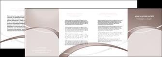personnaliser maquette depliant 4 volets  8 pages  web design texture contexture abstrait MIS91533