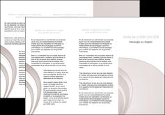 imprimerie depliant 3 volets  6 pages  web design texture contexture structure MLGI92411