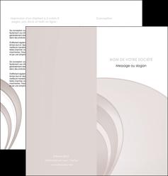 faire modele a imprimer depliant 2 volets  4 pages  web design texture contexture structure MLGI92413