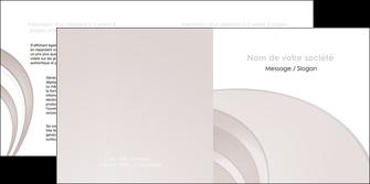 imprimerie depliant 2 volets  4 pages  web design texture contexture structure MLGI92415
